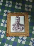 Портрет Николая 2 в рамке