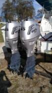 Honda. 45,00л.с., 4-тактный, бензиновый, нога X (635 мм), 2003 год