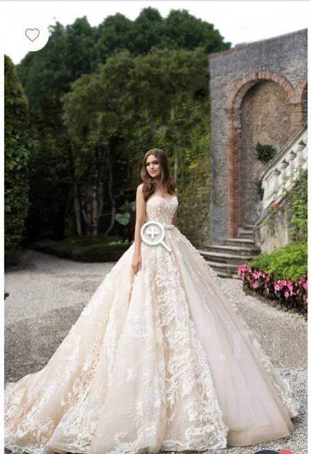 fe23c7303ce Продам шикарное свадебное платье фирмы Milla Nova Savana - Свадебные ...