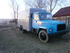 ГАЗ 3307. Продаётся грузовик газ 3307 будка двойные стены, 2 500куб. см., 5 000кг., 4x2