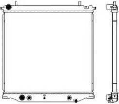 Радиатор для (CHEVROLET TRAILBLAZER 2.7 A/T 13- GM) SAKURA 30818506