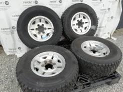 """Оригинальные диски Toyota на шинах Bridgestone 265/70R15. 7.0x15"""" 6x139.70 ET8"""