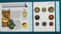 Великобритания набор из 8 монет 1994 г.