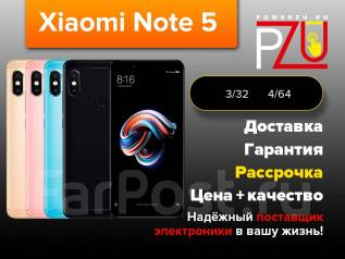 Xiaomi Redmi Note 5. Новый, 64 Гб, 3G, 4G LTE, Dual-SIM