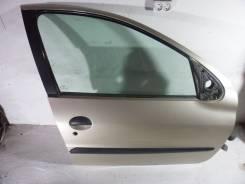 Дверь передняя правая в сборе Peugeot 206 (1998-2012г)