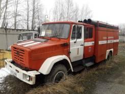 УЗСТ АЦН-8. Пожарная машина АЦ-4063Б, в отличном состоянии, 2002 год, 25 000 км., 1 900куб. см.