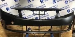 Бампер передний Киа Церато 3 рестайлинг с 2017г