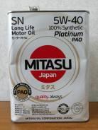 Mitasu. 5W-40, синтетическое, 4,00л.