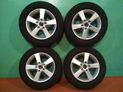 "Комплект Летних колес 195/65/15 Dunlop на литье R15; 5x114,3. 6.0x15"" 5x114.30 ET52.5 ЦО 67,0мм."