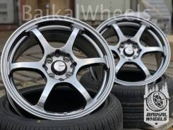 "Advan Racing RGIII. 7.0x16"", 4x100.00, 4x114.30, ET38, ЦО 73,1 мм."