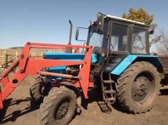МТЗ 82. Продам трактор мтз-82 2000г в хорошем т с весь в родной краске