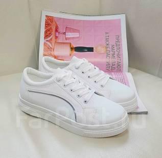 807b0eb65 Молодёжные кеды белые - Обувь во Владивостоке