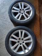 "Комплект колес Dunlop , enkei 215/55 r17. 7.0x17"" 5x100.00 ET48"