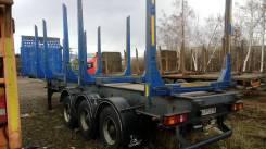 Тонар 9445. Продается полуприцеп тонар 9445 лесовоз, 39 000кг.
