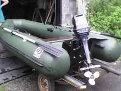 Фрегат. длина 3,10м., двигатель подвесной, 15,00л.с., бензин