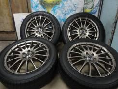 """Продам Редкие Стильные колёса Cross X-Speed+Лето215/55R17Toyota, Subaru. 7.0x17"""" 5x100.00 ET50"""