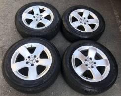"""Колеса w211 Benz E320 Toyo 225/55R16. 7.5x16"""" 5x112.00 ET42 ЦО 66,6мм."""