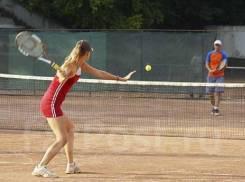Большой теннис.
