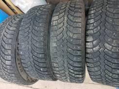 Bridgestone Blizzak Spike-01. зимние, шипованные, 2014 год, б/у, износ 40%