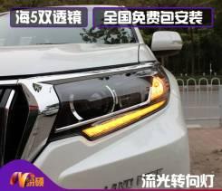 Фары передние Светодиодные . Toyota Land Cruiser Prado 150 2018-Н. в.