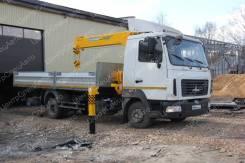 МАЗ 4371. с КМУ Soosan 335, 4 350кг., 4x2
