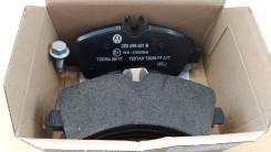 Колодки тормозные. Volkswagen Crafter, 2EA, 2EB, 2ED, 2EE, 2EH, 2EK, 2EX, 2FC, 2FF, 2FG Двигатели: BJJ, BJK, BJL, BJM