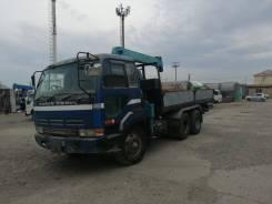 Nissan Diesel. Продам грузовик с краном, 15 200куб. см., 10 000кг., 4x2