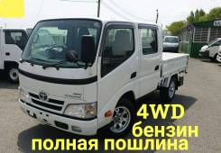 Toyota ToyoAce. 4WD, борт 1,5 тонны, 2 000куб. см., 1 500кг., 4x4