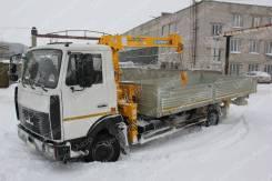 МАЗ 4370. с КМУ Soosan 334, 4 350кг., 4x2