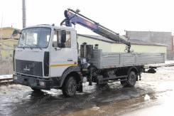 МАЗ 4370. с КМУ PM 12012 бортовой, 4 350кг., 4x2