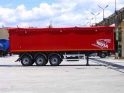 MEGA. Полуприцеп самосвальный алюминиевый с клапан воротами 60 куб. м, 32 000кг. Под заказ