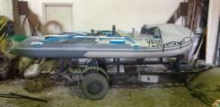 Гладиатор D 400 AL. 2016 год год, длина 4,00м., двигатель подвесной, 15,00л.с.