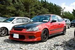 Бампер C-WEST для Honda Civic
