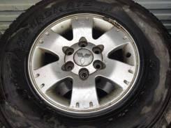 """Колеса 265/70R16 Mitsubishi Pajero Montero 3 рестайлинг. 7.0x16"""" 6x139.70 ET46"""