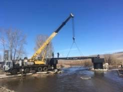 Услуга автокранов -50 тонн- Самосвал Scania P440 в Чите