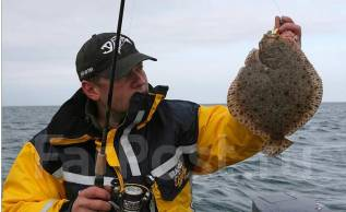Аренда катера острова рыбалка камбала сима треска кальмар . Аскольд. 8 человек, 50км/ч