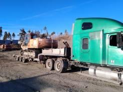 Freightliner. Продам фредлайнер в сцепке с тралом, 12 700куб. см., 30 000кг., 6x4