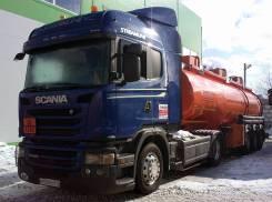 Scania G440LA. Scania G440, 2013 и бочка Сеспель 30 куб. алюминий 2015г., 12 700куб. см., 4x2