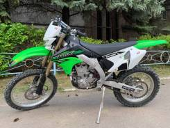 Kawasaki KLX 450R. 450куб. см., исправен, без птс, с пробегом
