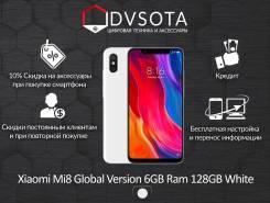 Xiaomi Mi8. Новый, 128 Гб, Белый, 4G LTE, Dual-SIM