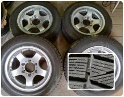 Колеса 215/60 R16/ Bridgestone/ 2015 год/ на литых дисках
