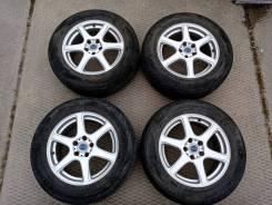 """Комплект колес 225/65R17 Yokohama Geolandar SUV G055. 7.0x17"""" 5x114.30 ET39 ЦО 73,1мм."""