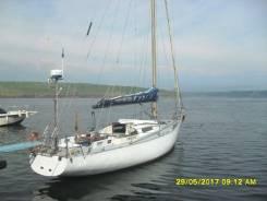 Парусно моторная яхта класс(алькор). Длина 12,00м., 1978 год год