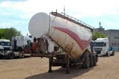 Metsan. Полуприцеп цистерна-цементовоз MS3V, 26 100кг.