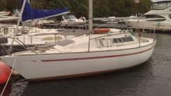 Продается парусная яхта. Длина 7,50м., 1982 год год