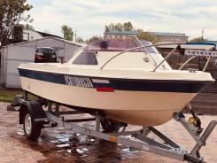 Yamaha Fish 15. 1991 год год, длина 4,50м., двигатель подвесной, 60,00л.с.