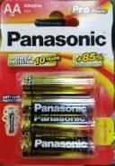 Батарейка Panasonic LR6 PRO POWER 4BP (цена за блистер)