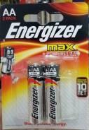 Батарейка Energizer LR6/E9 MAX 2BP (цена за блистер)