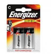 Батарейка Energizer E93/C MAX 2BP (цена за блистер)