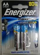 Батарейка Energizer LR6/E91 Maximum 2BP (цена за блистер)